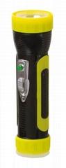 LED彩色塑料手電筒 PC300BC