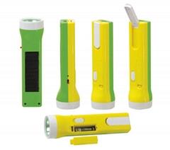 LED太陽能可充電手電筒 SL-008