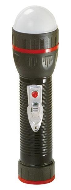 LED Metal/Steel-Plastic Colour Flashlight/Torch TWJ2DE1BS
