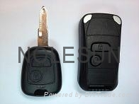 Peugeot remote key shell for 206 1
