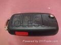 VW remote  key blank