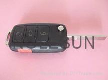 VW remote  key blank 2