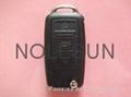 VW remote  key blank 3