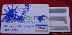Bank Visa Card Picks / James Bond 007 Locksmith Tools