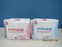 Supply Far-IR Series Sanitary Napkins and OEM processing
