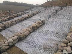 生态铅丝石笼网