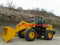 Large wheel loader ZL50G