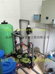供应浙江游泳池水处理设备工程