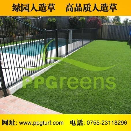 庭院景觀綠化人工草皮 2