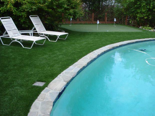 庭院景觀綠化人工草皮 4