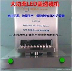 20顆大功率LED蓋透鏡機
