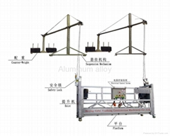 ZLP Aluminum Alloy Suspended Scaffolding