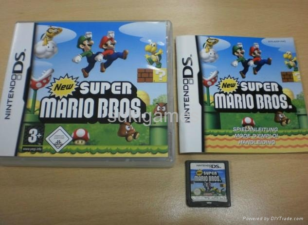 New Super Mario Bros ds games for ds NDS NDSL NDSI 3DS DSIXL