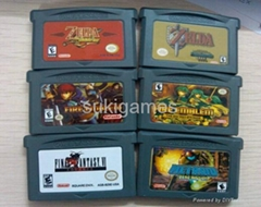 legend of Zelda / Final Fantasy games GBA Game for NDSL GBA Console mix order