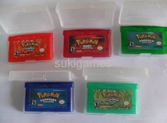 Pokemon games GBA Game for NDSL GBA Console mix order