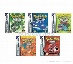 Pokemon games GBA Game f