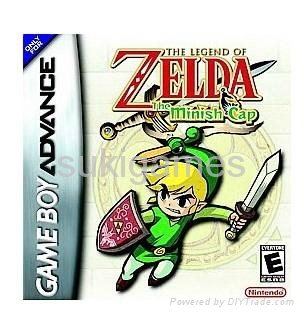wholesale game boy advance the legend of zelda the minish cap gba sp nds ds lite gba game. Black Bedroom Furniture Sets. Home Design Ideas