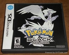 Wholesale Pokemon black version ds games for NDS NDSL NDSI 3DS DSIXL any Console