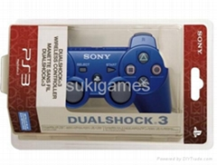 New PS3 Wireless DualShock Bluetooth SixAxis Controller For SONY PS3