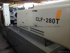 Chuan Lih Fa CLF 280t used Injection Molding Machine