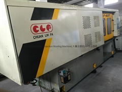 Chuan Lih Fa CLF 400t Injection Molding Machine