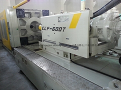 Chuan Lih Fa CLF-600t used Injection Molding Machine