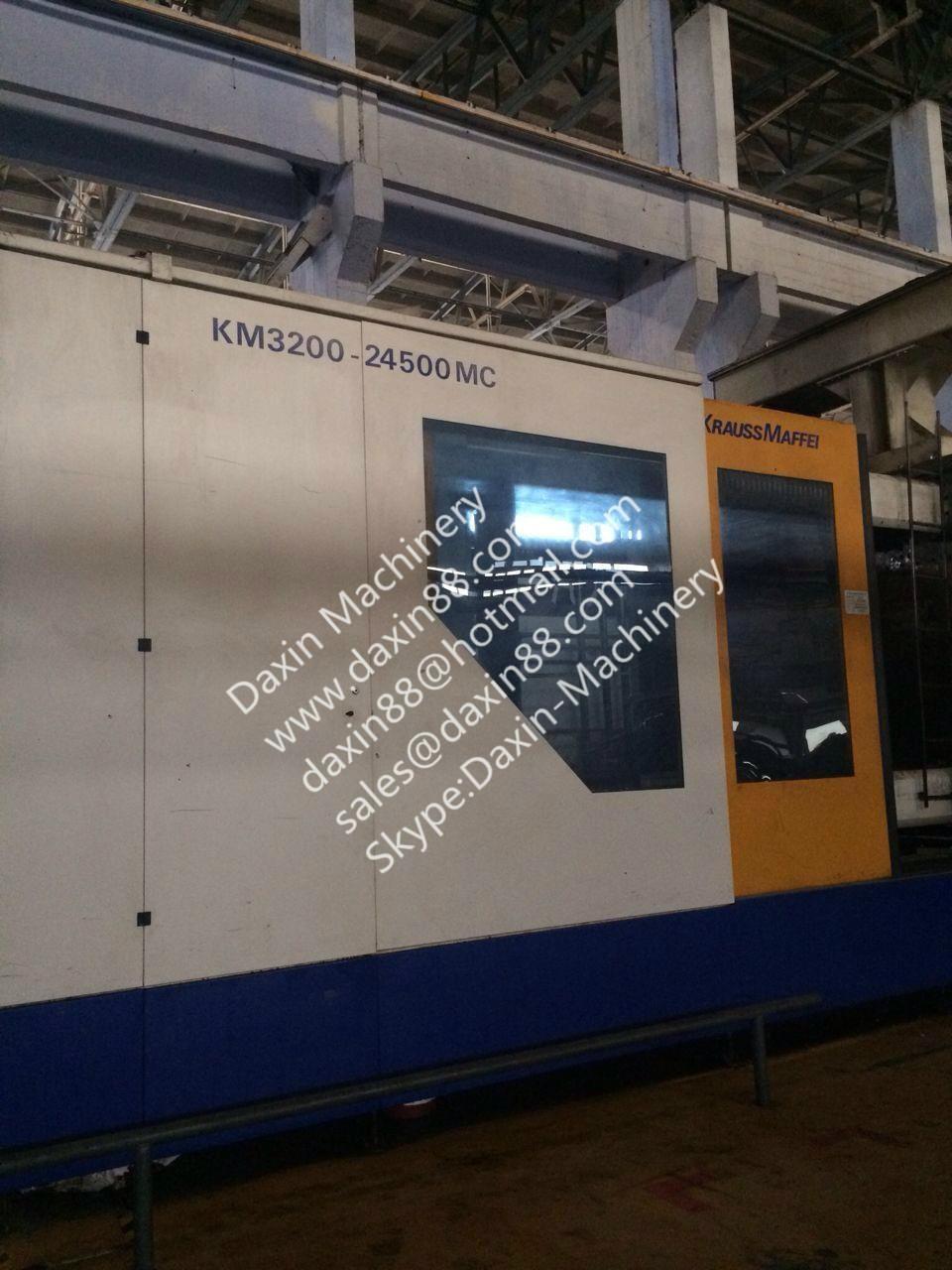 krauss maffei injection molding machine for sale