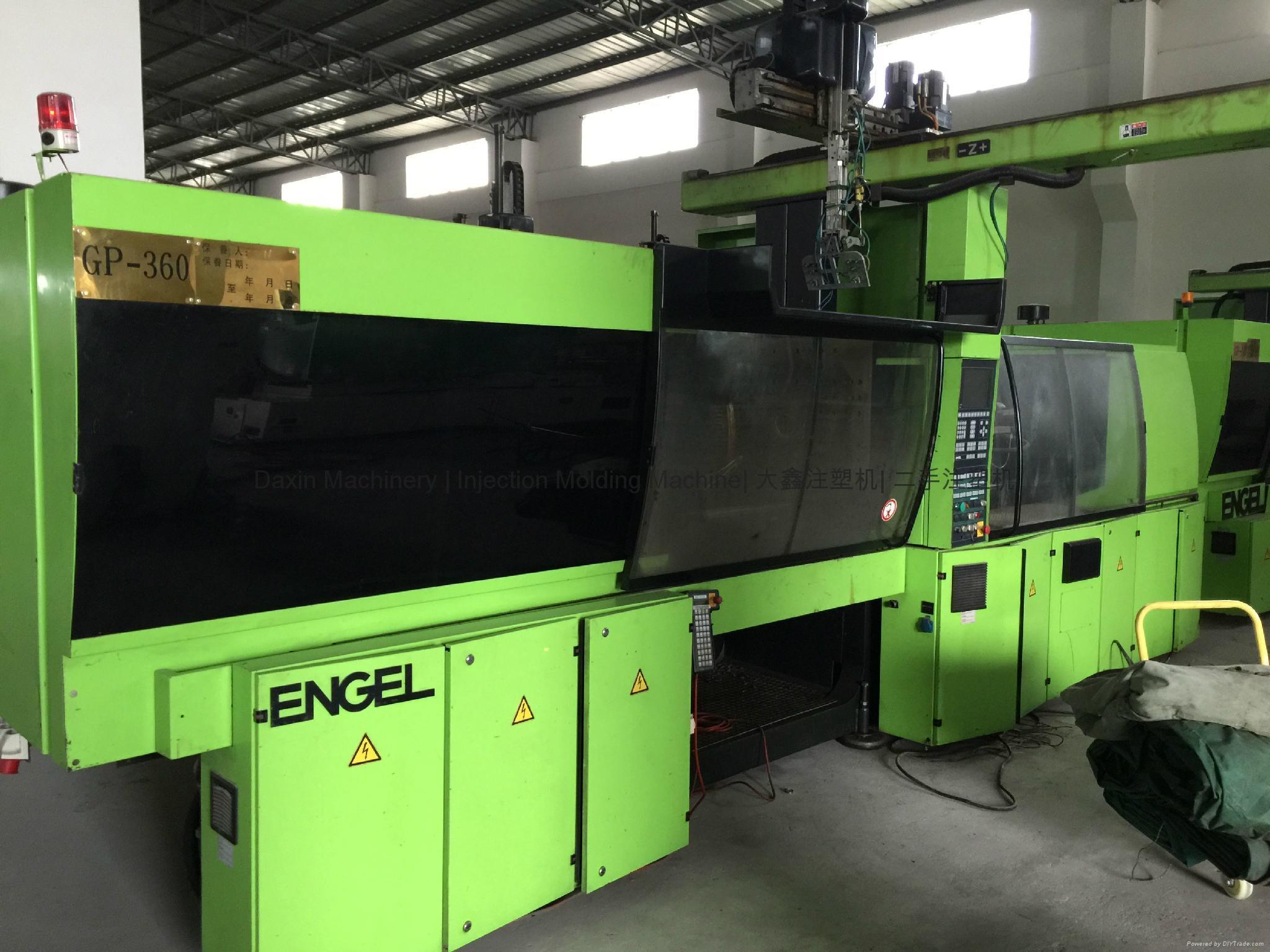 恩格爾200噸雙色機(L型注射) 注塑機