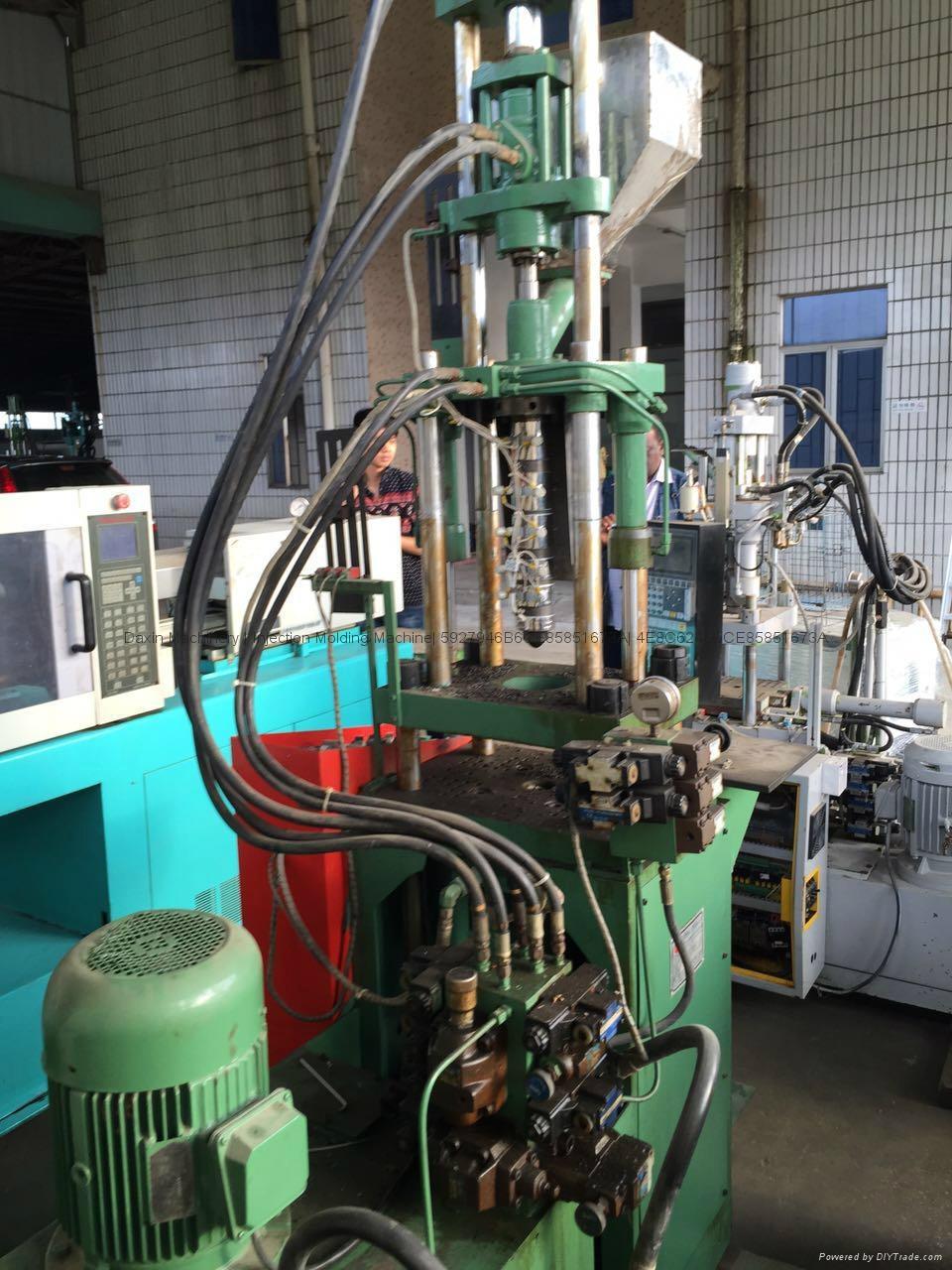 Kinki 25t used Vertical Injection Molding Machine