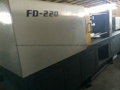 臺灣豐鐵FD-220二手注塑機