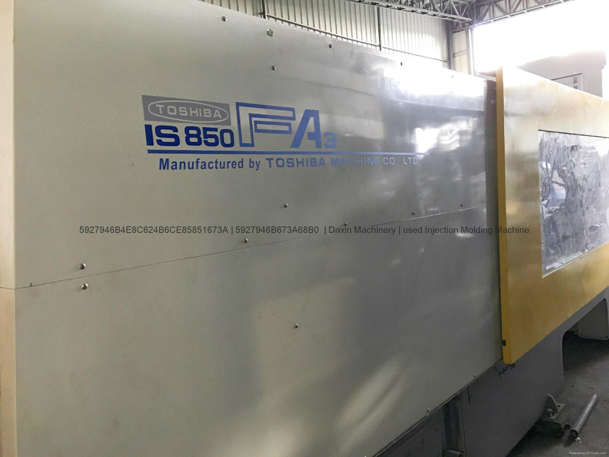 Toshiba 850t used Injection Molding Machine