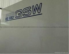 東芝IS550GSW (加大模板) used Injection Molding Machine