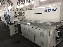 SuperMaster 600t SM600TSV (servo) used Injection Moulding Machine