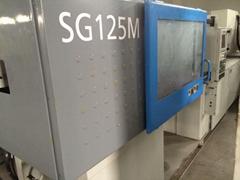 日本住友125噸SG125M二手快速注塑機