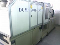 百塑200噸(加大模板)二手雙色注塑機