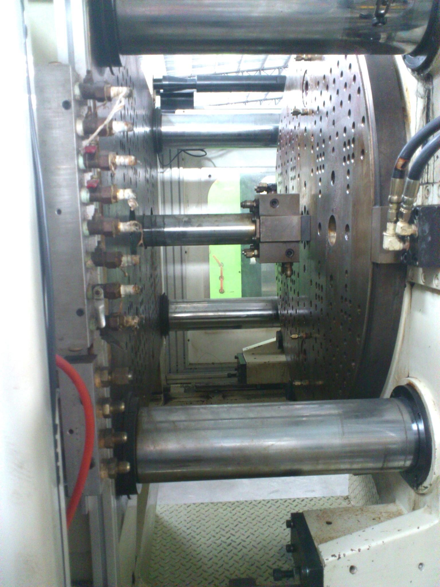 百塑200噸(加大模板)二手雙色注塑機 4