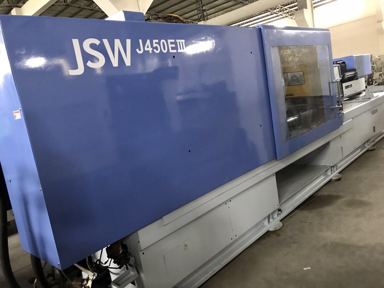 日鋼JSW450噸J450EIII二手注塑機 1