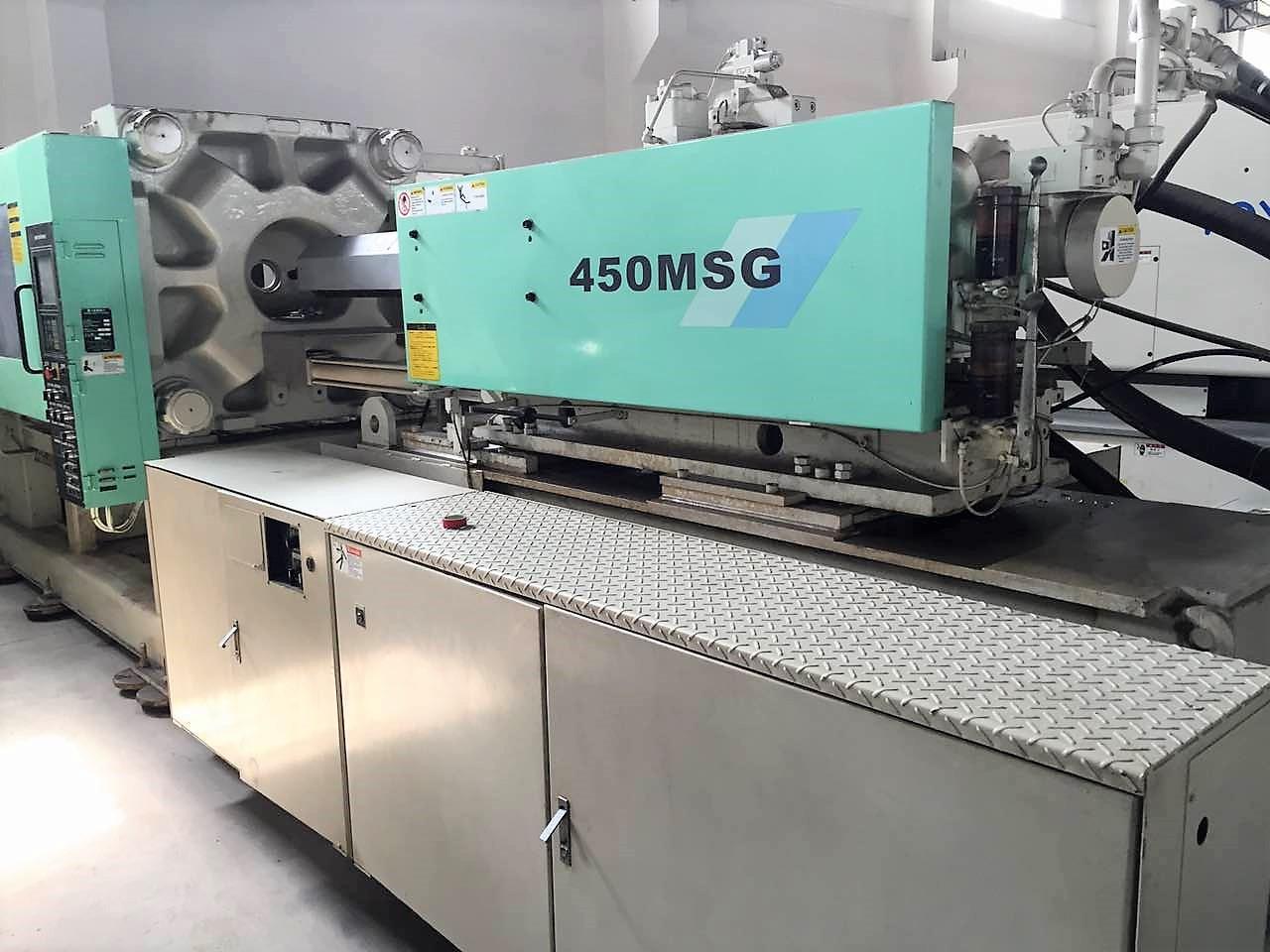 三菱450噸450MSG二手注塑機 3