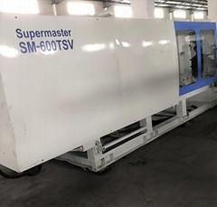 震雄600噸SM600TSV伺服二手注塑機