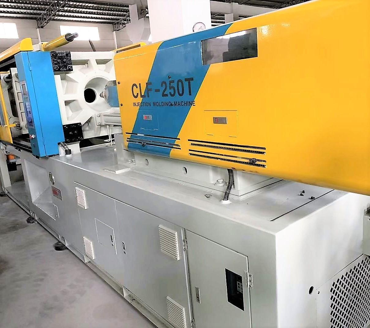 臺灣全立發CLF-250噸(伺服) 二手注塑機 1