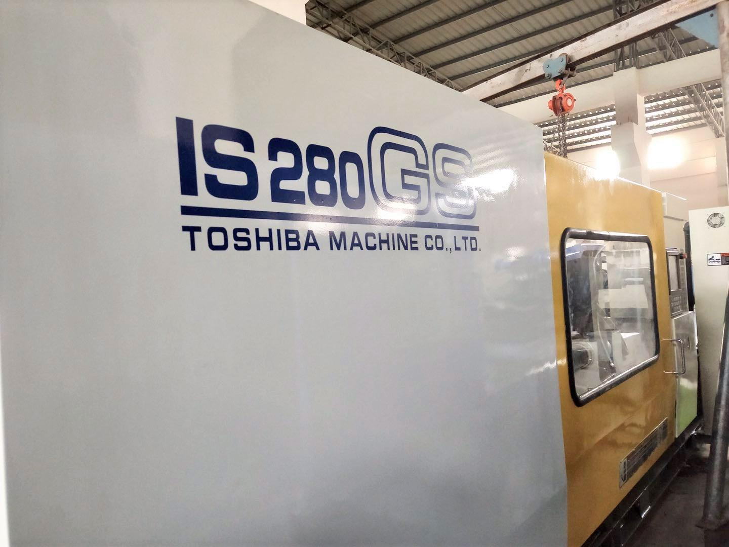Toshiba 280t IS280GS (V21 Control) Used Plastic Injection Molding Machine