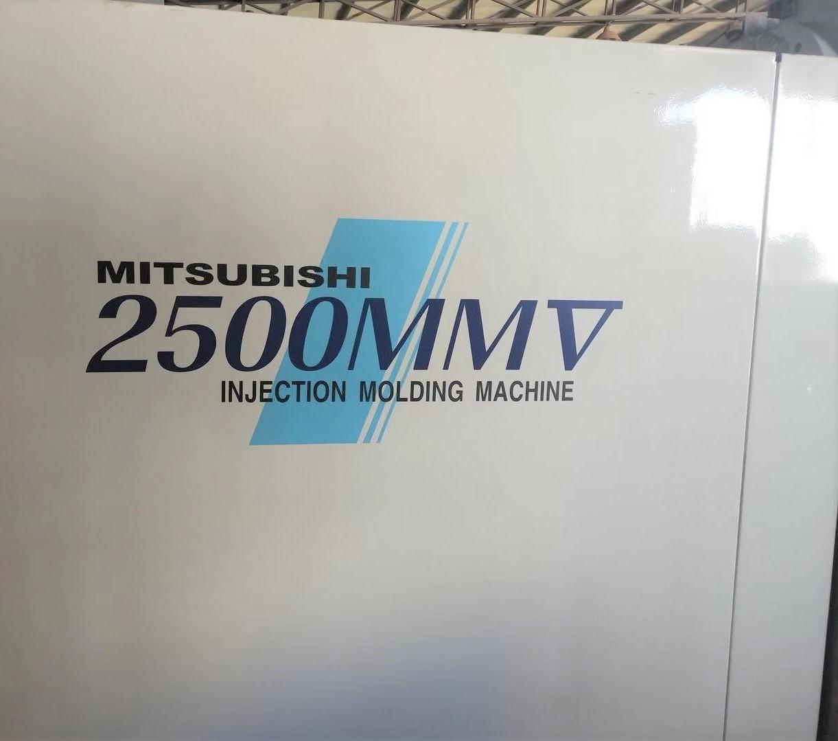 Mitsubishi 2500t used Plastic Injection Molding Machine