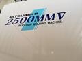 日本三菱2500噸二手注塑機