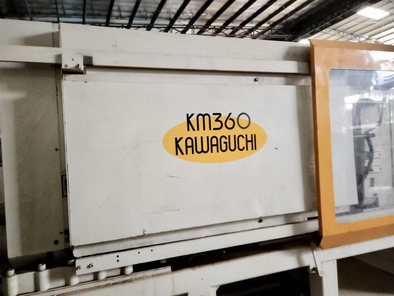 川口360吨 KM360 (伺服)二手注塑机