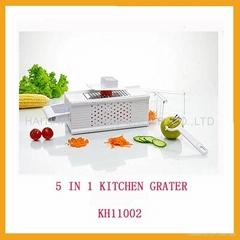 5 in 1 Kitchen Grater