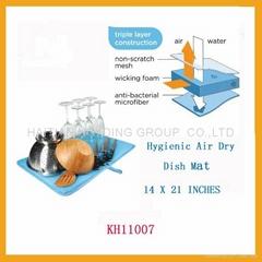Hygienic Air Dry Dish Mat