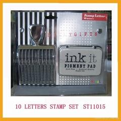 10 Letter Stamp Kit