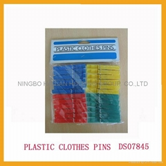 Plastic Cloth Pins