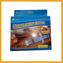 Solid Flavour Injector