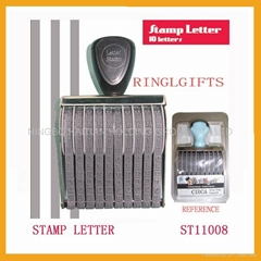 Letter stamp